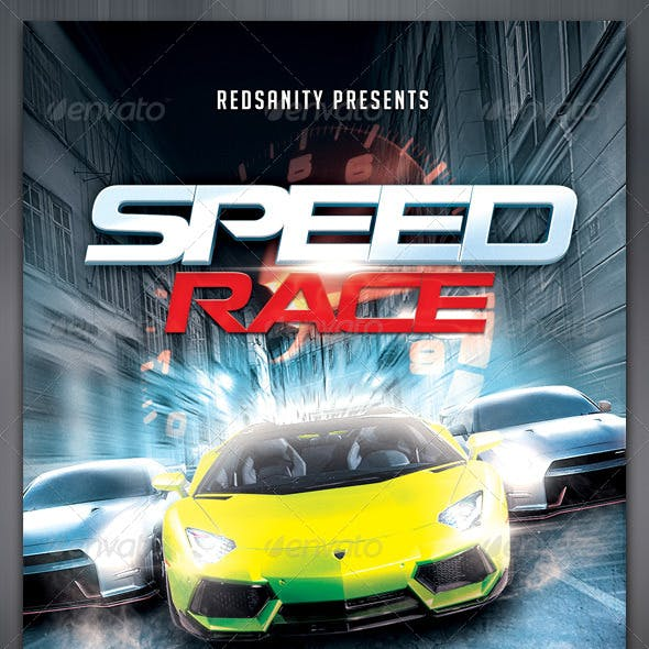 Speed Race Flyer