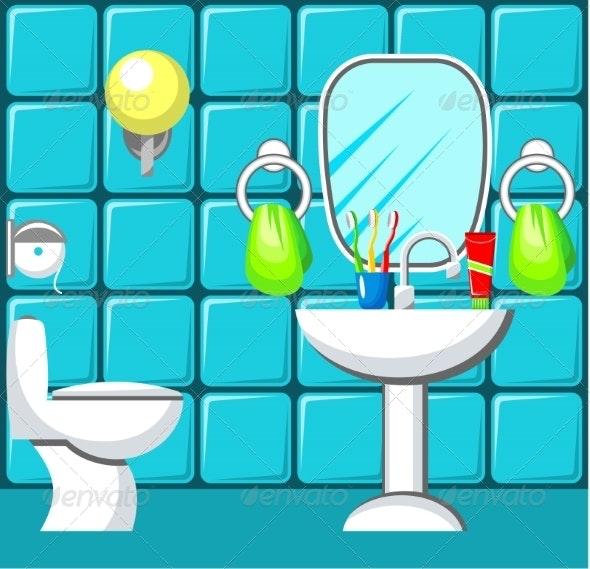 Bathroom.  - Buildings Objects
