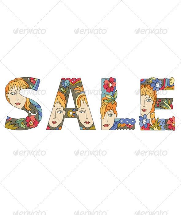 Title Sale - Commercial / Shopping Conceptual