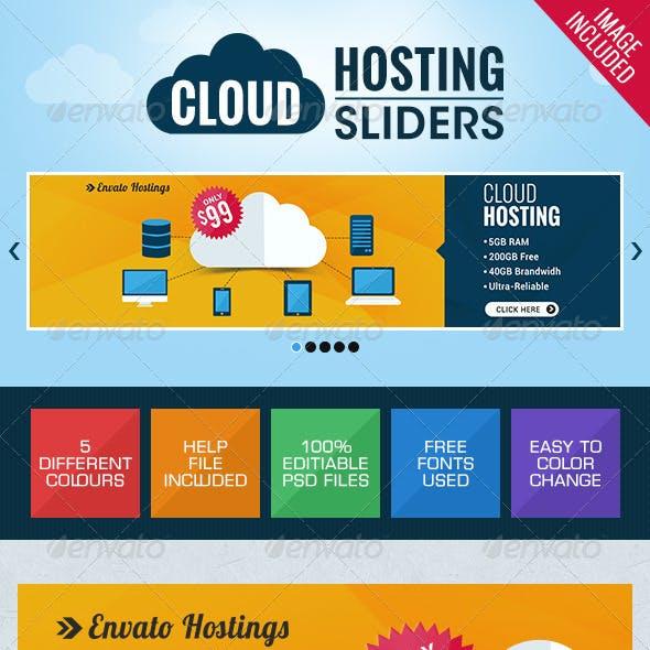 Web Hosting Sliders