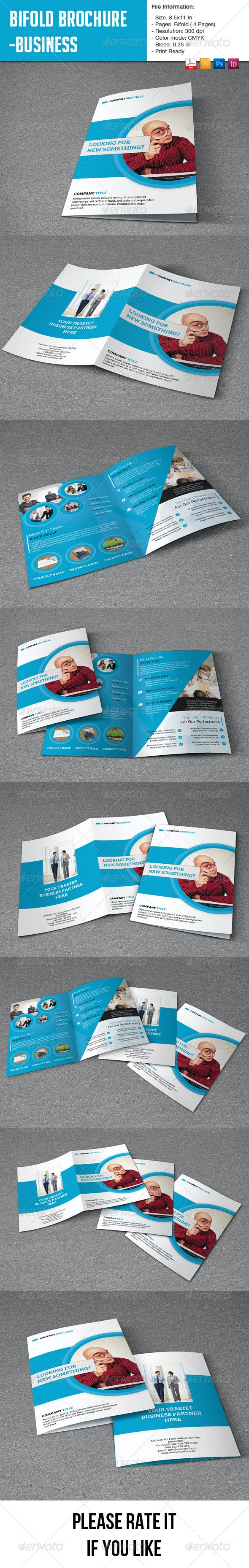 Flexible Bifold Brochure for Business-4 pages - Corporate Brochures