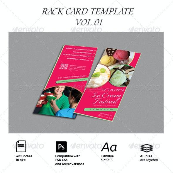 Rack Card Template Vol.01