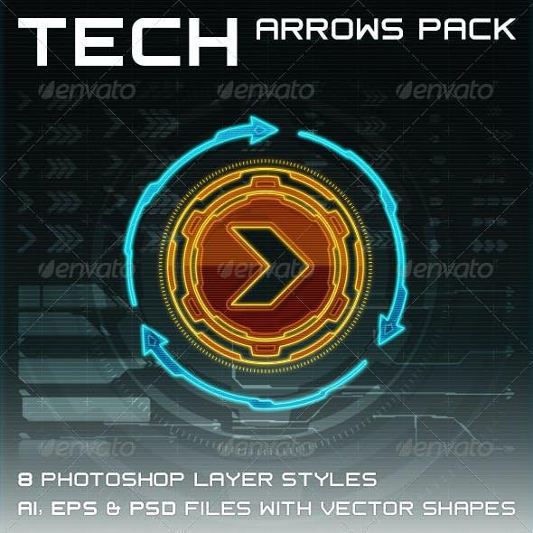 Tech Arrows Pack