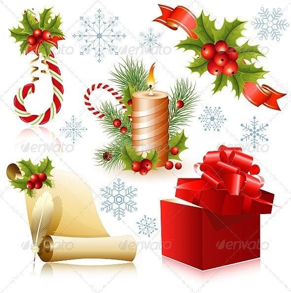 Traditional Christmas Symbols - Christmas Seasons/Holidays