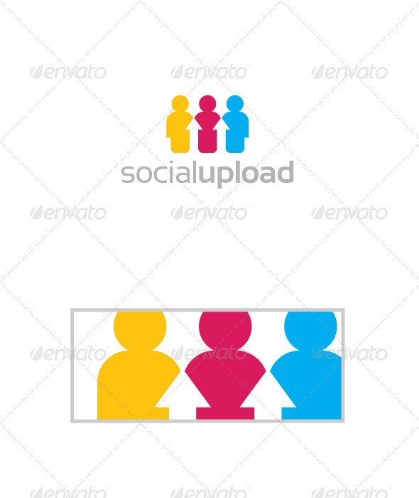 Social Upload - Abstract Logo Templates