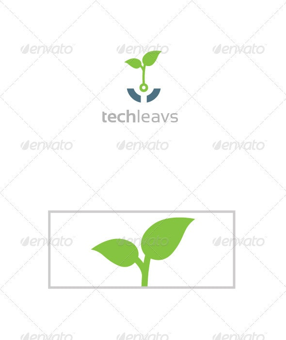 Techleavs - Abstract Logo Templates