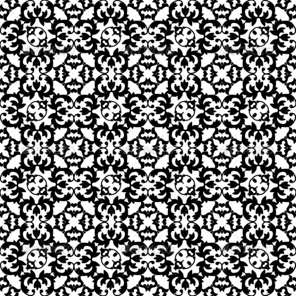 Floral Lace Pattern - Patterns Backgrounds