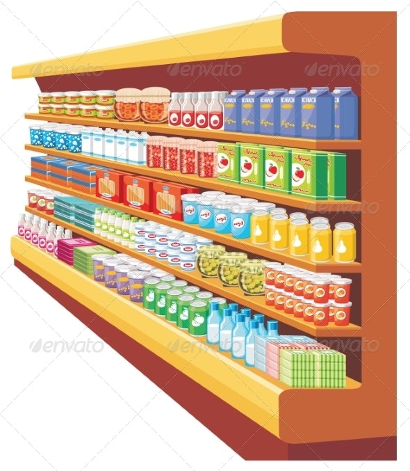 Supermarket. - Retail Commercial / Shopping