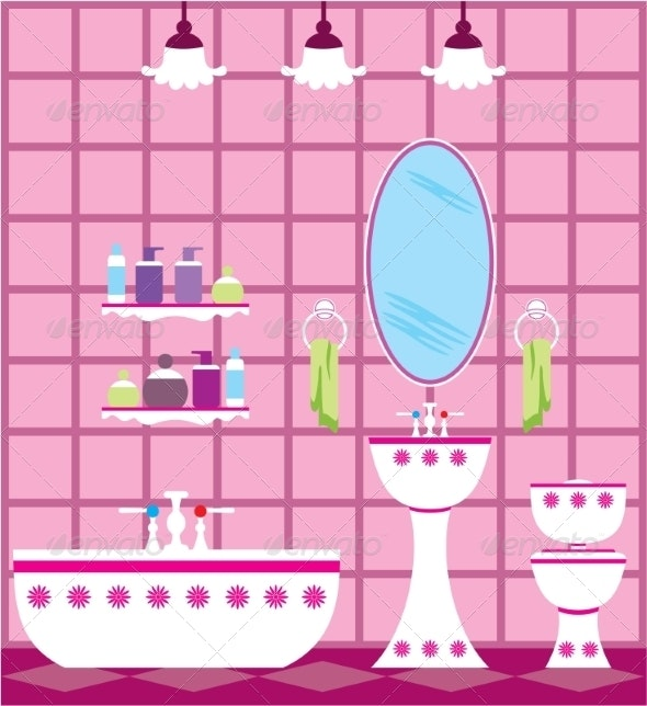 Bathroom - Buildings Objects
