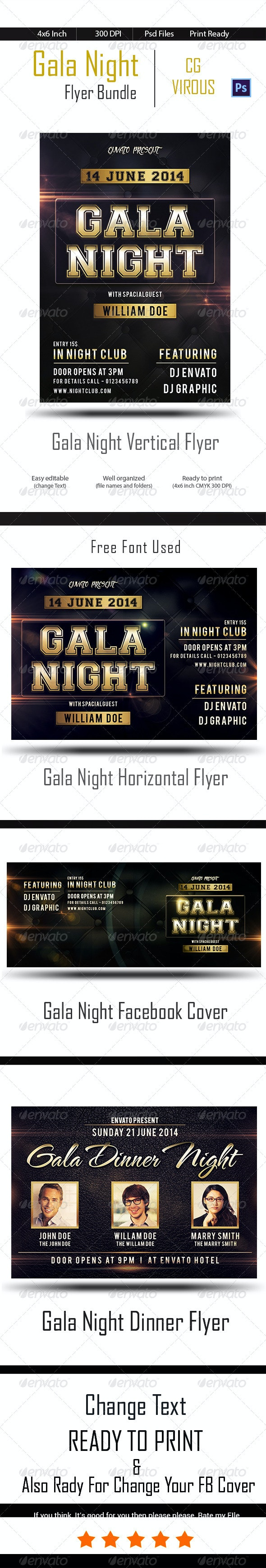 Gala Night Bundle - Clubs & Parties Events