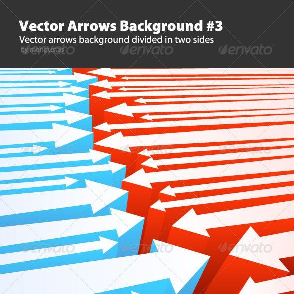 Vector Arrows Background #3