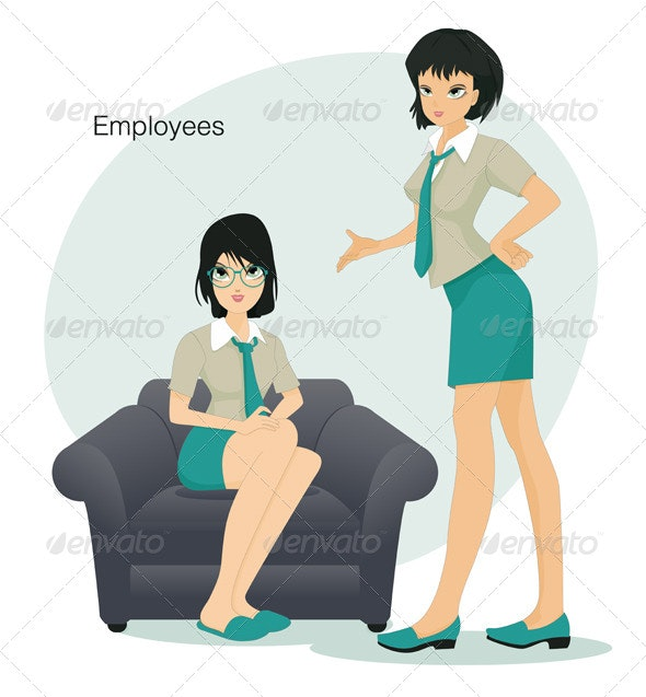 Employees - People Characters