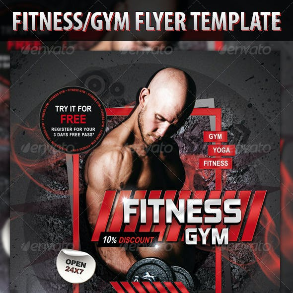 Fitness/Gym Flyer