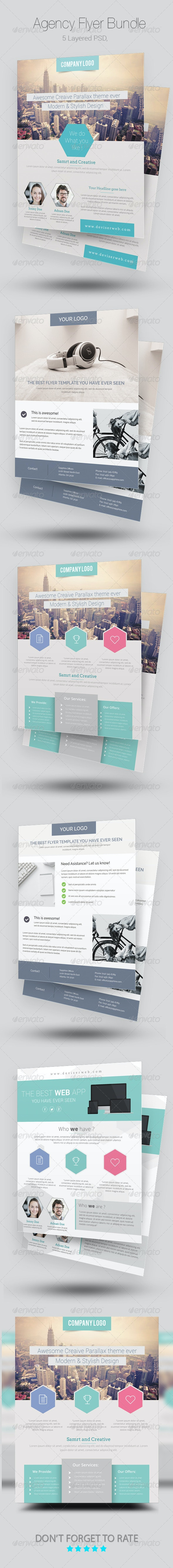 Agency/Business Flyer Bundle - Corporate Flyers