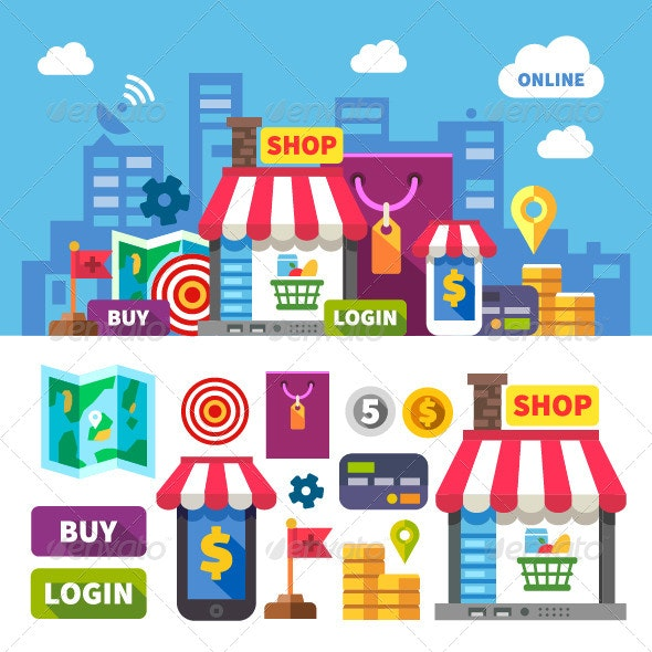 Online Shopping - Business Conceptual