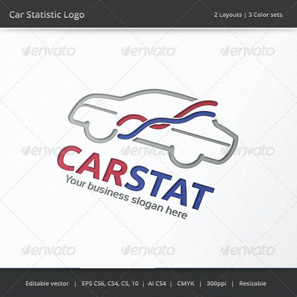 Car Statistic Logo