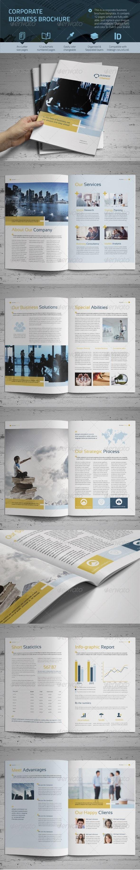 Corporate Business Brochure vol.2 - Informational Brochures