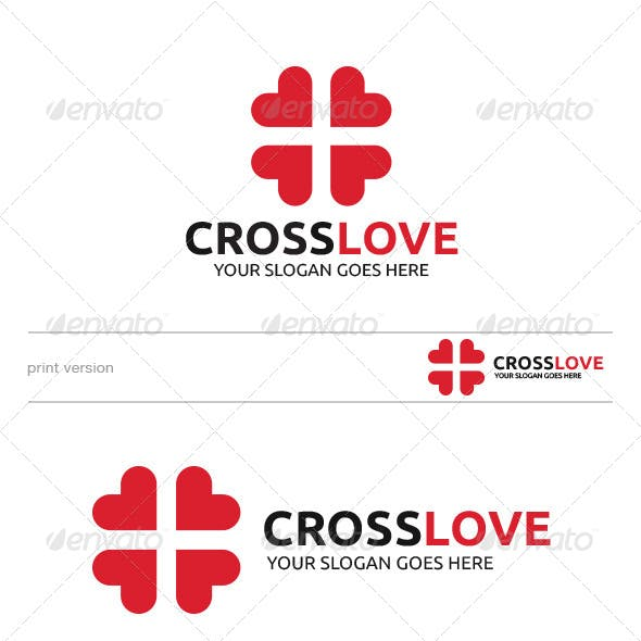 Cross Love Logo