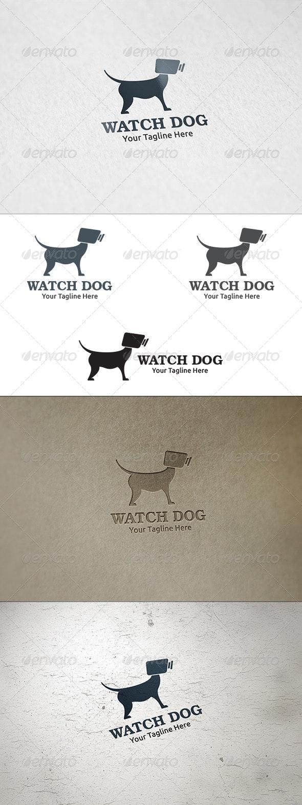Watch Dog - Logo Template - Animals Logo Templates