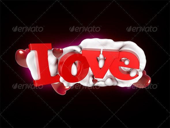 Love - 3D Backgrounds
