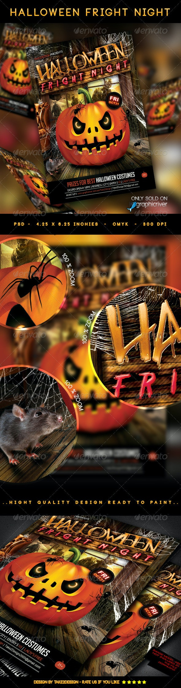 Halloween Fright Night - Clubs & Parties Events
