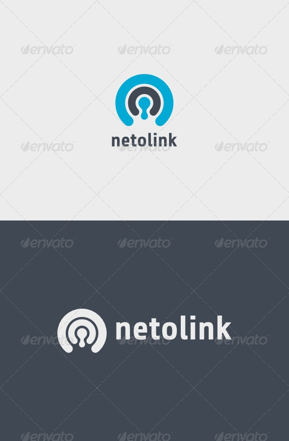 Netolink Logo - Vector Abstract