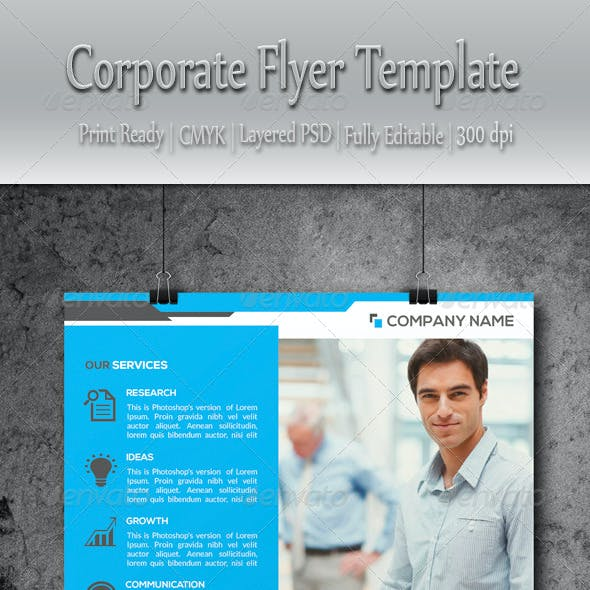 Multipurpose Corporate Business Flyer Template