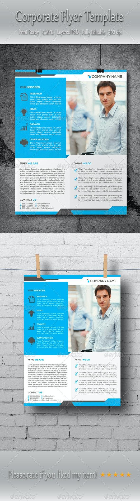 Multipurpose Corporate Business Flyer Template - Corporate Flyers