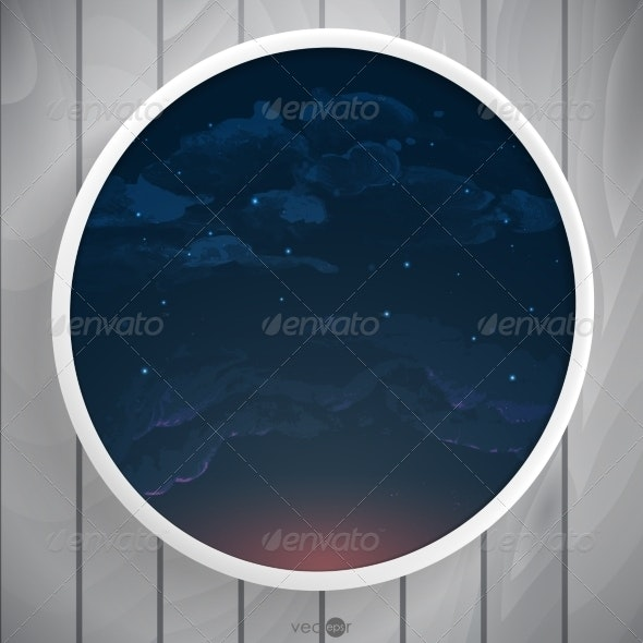 Abstract Round Shape With Frame - Borders Decorative
