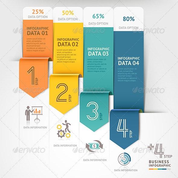 Business Arrow Infographics Template - Infographics