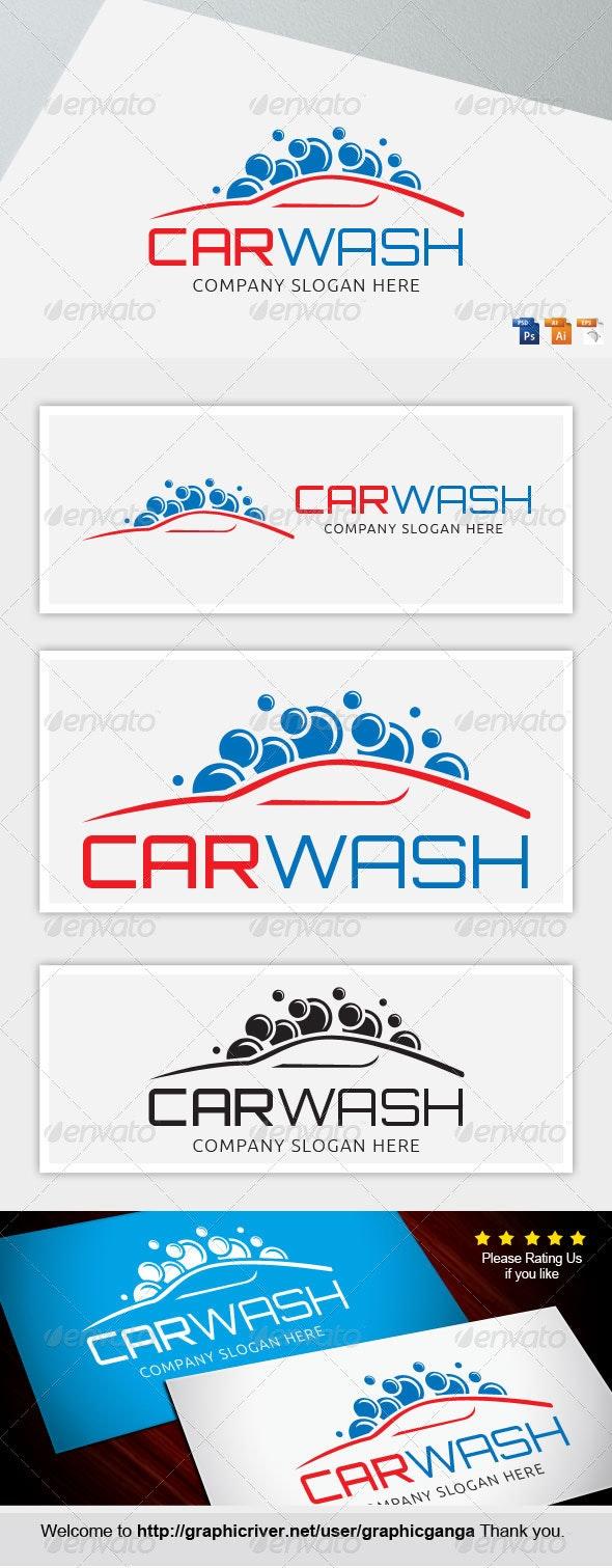 Carwash 2 - Abstract Logo Templates