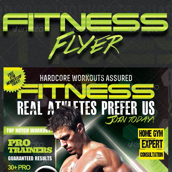 Ultimate Performance Fitness Flyer