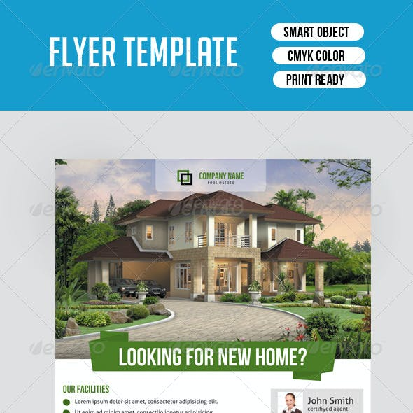 Real Estate Flyer Template-V118