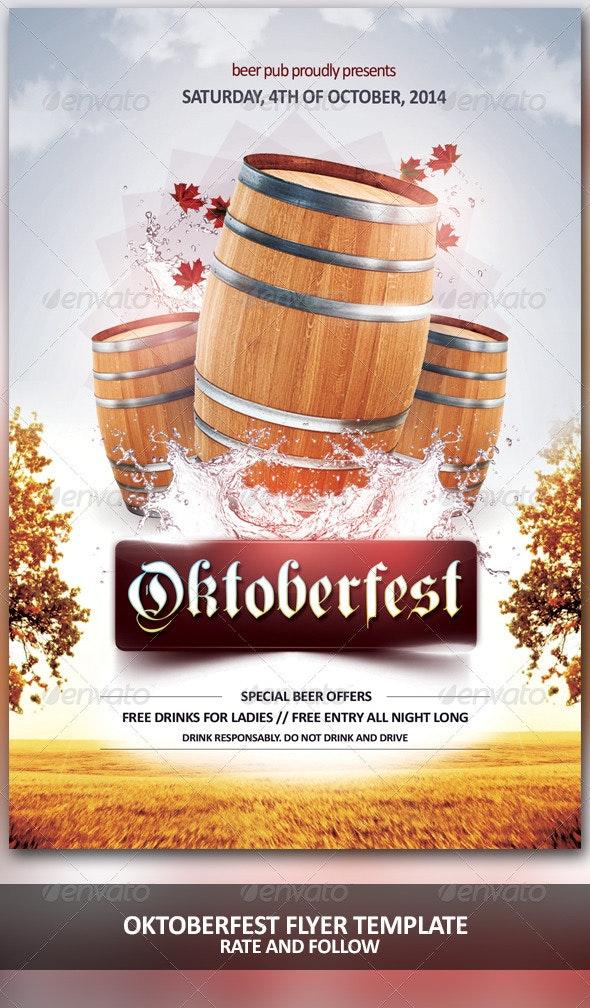Oktoberfest Time - Holidays Events