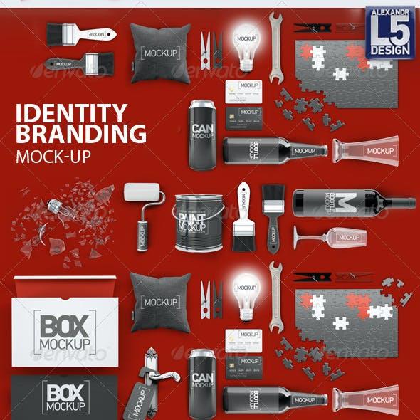 Identity Branding Mock-Up