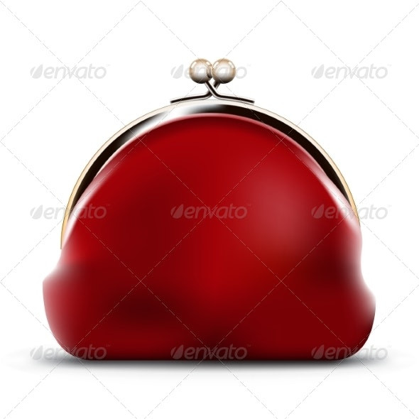 Red Purse - Man-made Objects Objects