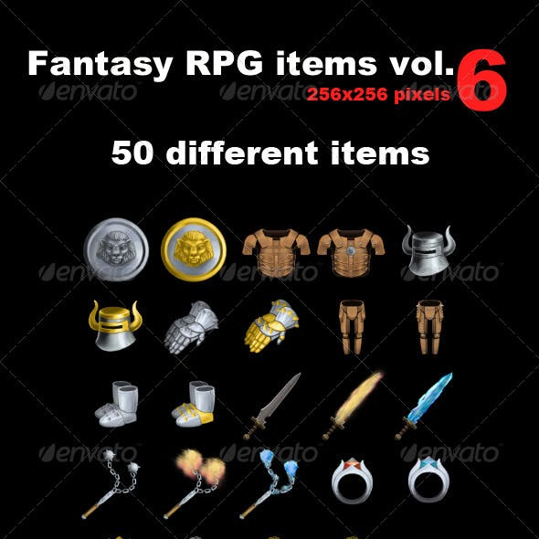 Fantasy RPG Icons Vol 6