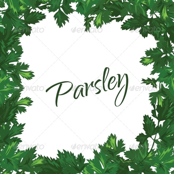 Parsley Frame - Food Objects