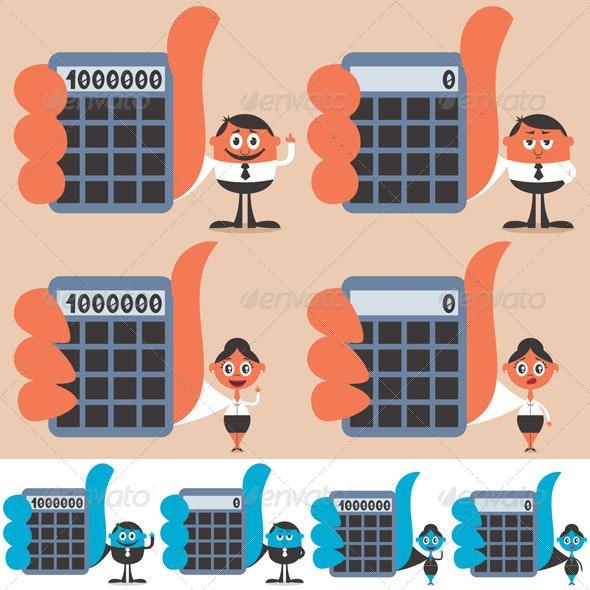 Holding Calculator - Conceptual Vectors