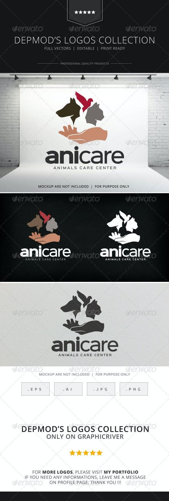 Anicare Logo - Animals Logo Templates