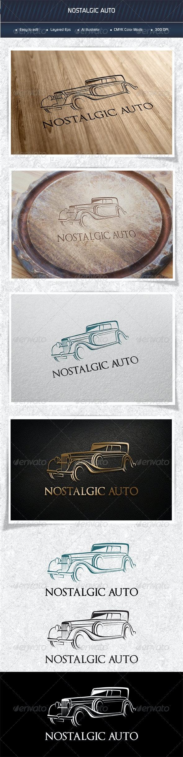 Nostalgic Auto - Logo Templates