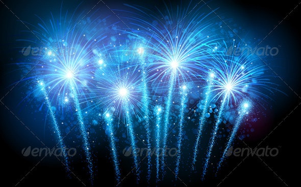 Fireworks - New Year Seasons/Holidays