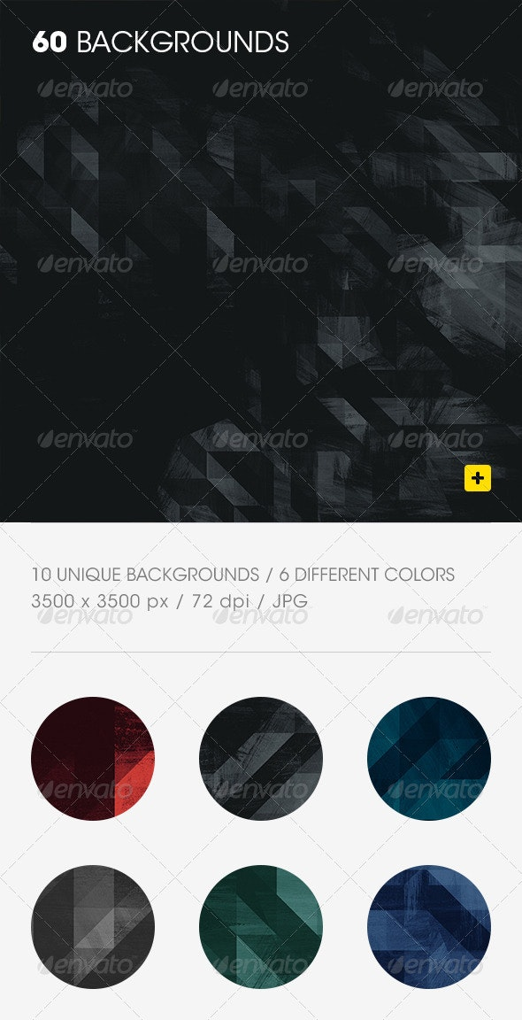60 Geometric Textured Backgrounds - Abstract Backgrounds