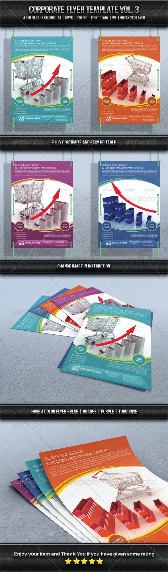 Corporate Flyer Template Vol. 3 - Corporate Flyers
