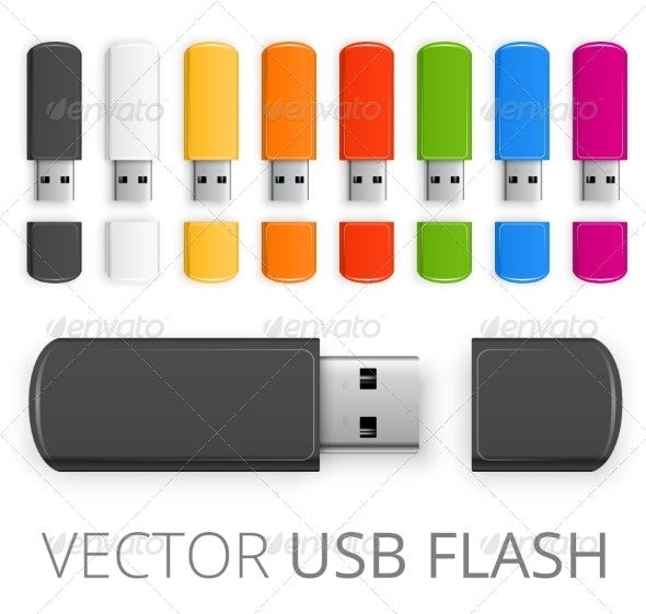 Colored USB Flash - Computers Technology