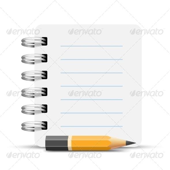Paper Spiral Motebook