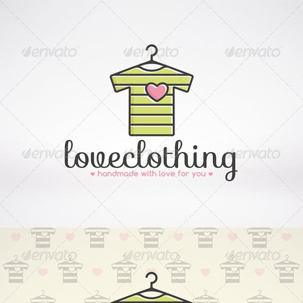 Love Clothing Logo Template