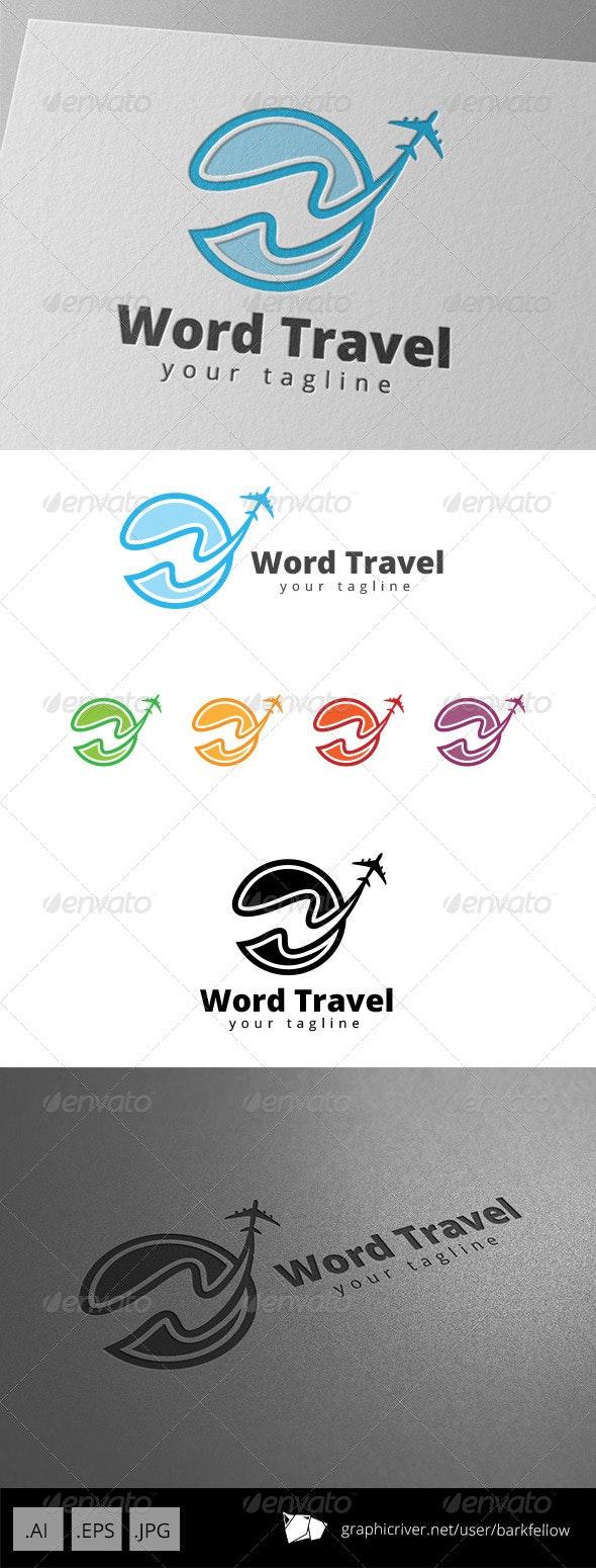 World Travel Logo - Symbols Logo Templates