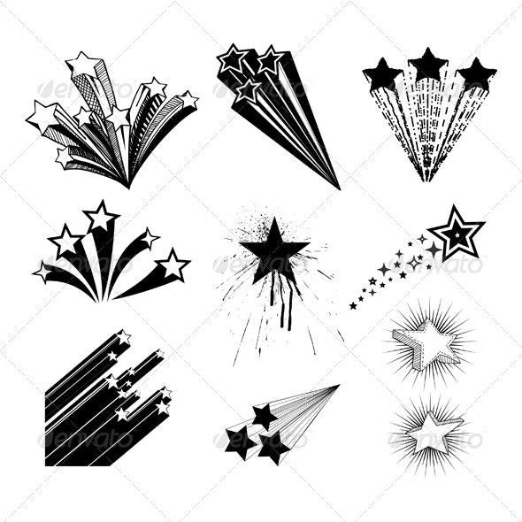 Stars Design - Decorative Symbols Decorative