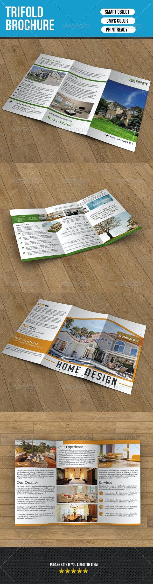 Real Estate Trifold Brochure Bundle-V02 - Corporate Brochures